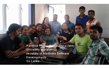 Secretary of Madhuka software Developments Sri Lanka .